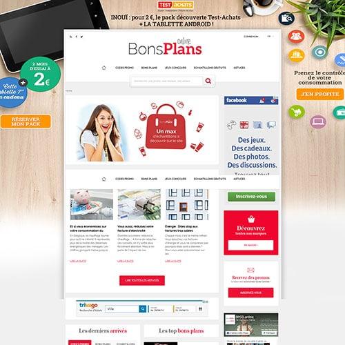 Bonsplans online